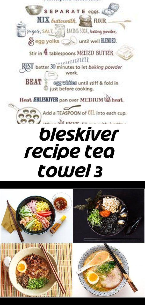 Photo of Æbleskiver recipe tea towel 3