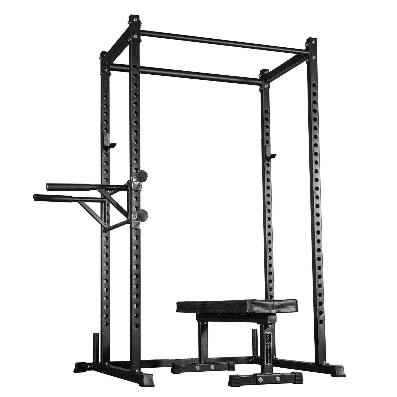 Rep Fitness Dual Pull Up Bars Squat Rack Power Rack Squat Rack