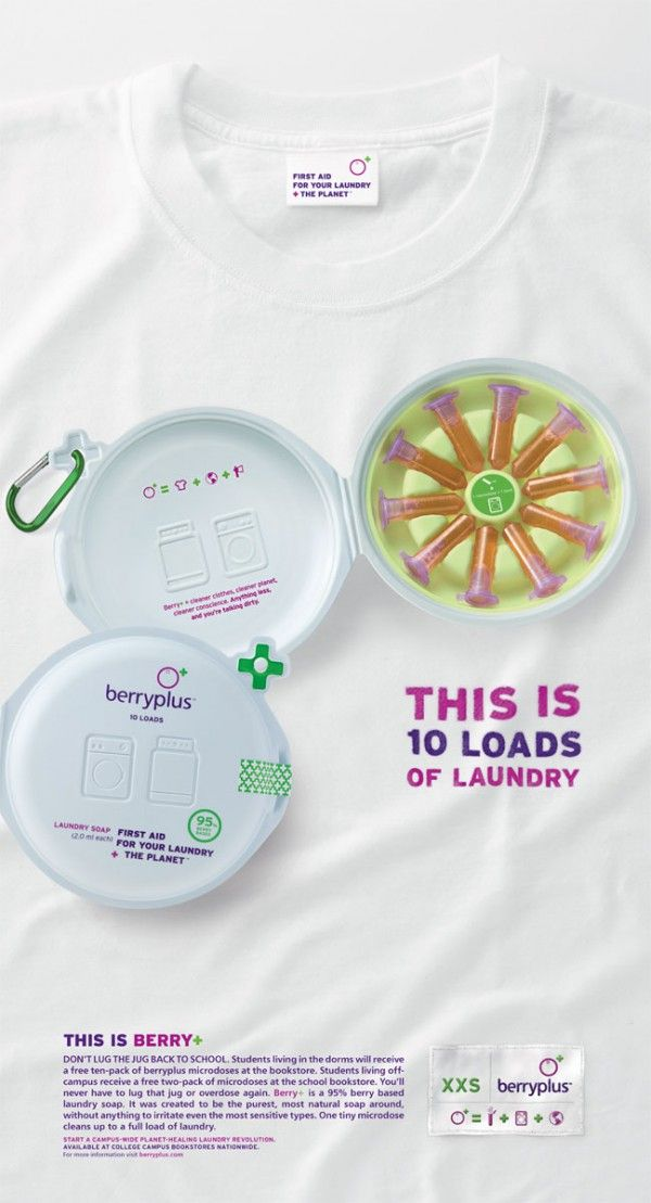 Berry Plus First Aid For Your Laundry The Planet The Moderns