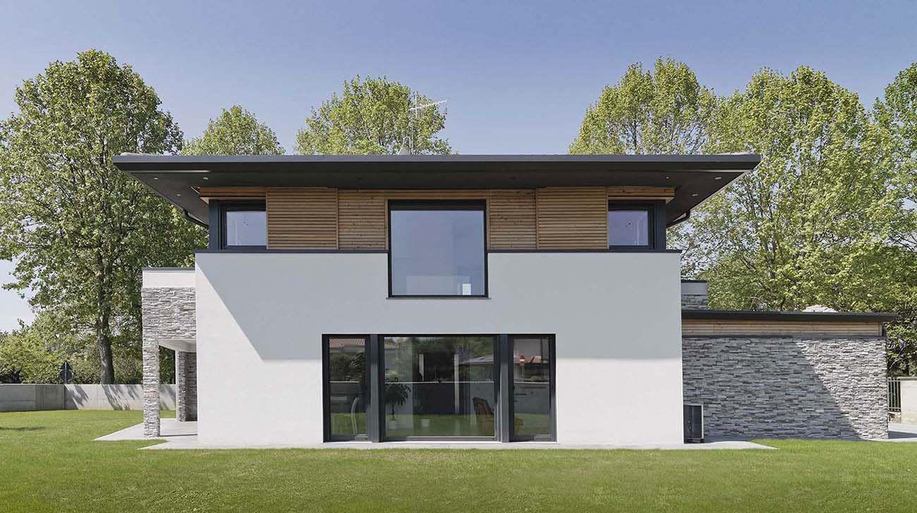 Progetto casa moderna free progetti case mq idees con - Progetto casa ecologica ...
