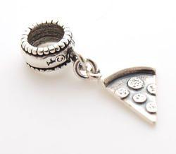 28bd8c950 Pizza Slice Dangle Charm Bead - Pandora Compatible | Charm Beads for ...