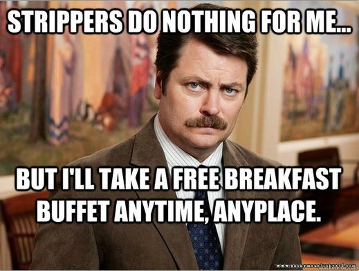 The Best Ron Swanson Food Quotes   Ron Swanson   Ron swanson ...