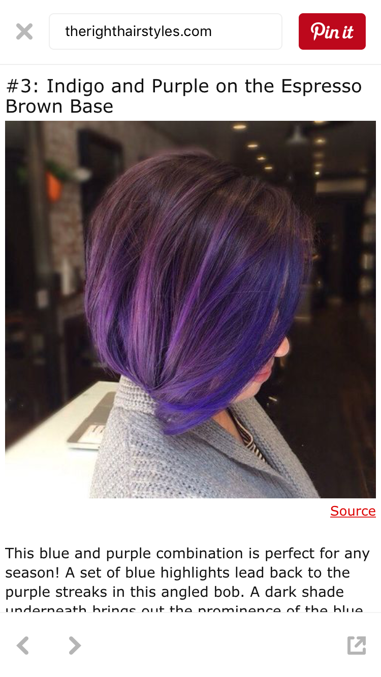 Pin By Michelle Ardelean On Bob Hairstyles In 2019 Purple Hair