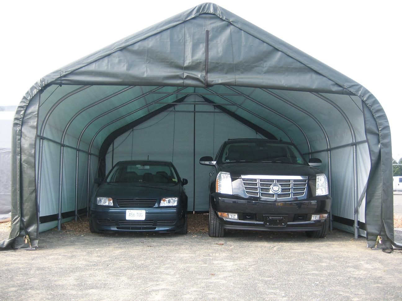 portable garages for winter