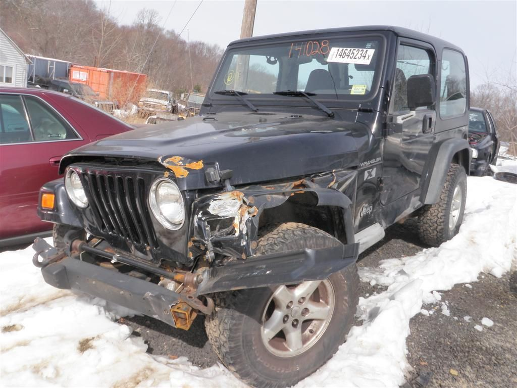 Great Jeep Wrangler Salvage Yards