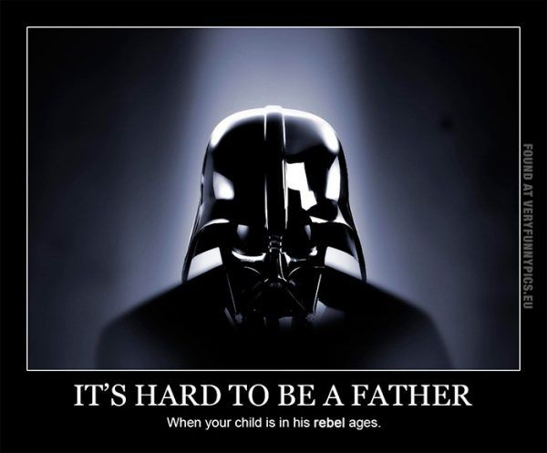Happy Father S Day Darth Vader Star Wars Memes Darth Vader Father Star Wars Facts