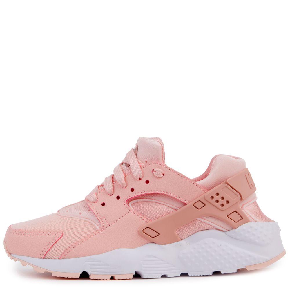 c4e3d56356e98 Nike Huarache Run Se (gs) Storm Pink rust Pink-white