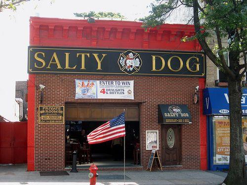 Salty Dog Brooklyn on my block!