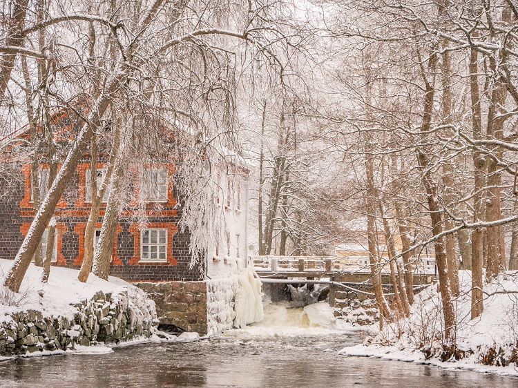 Fiskars Village - Snow