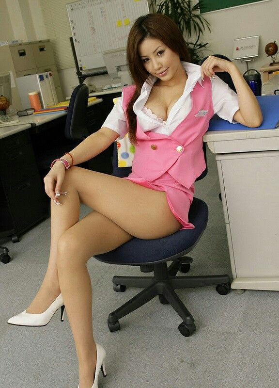 Asian ladies in pantyhose