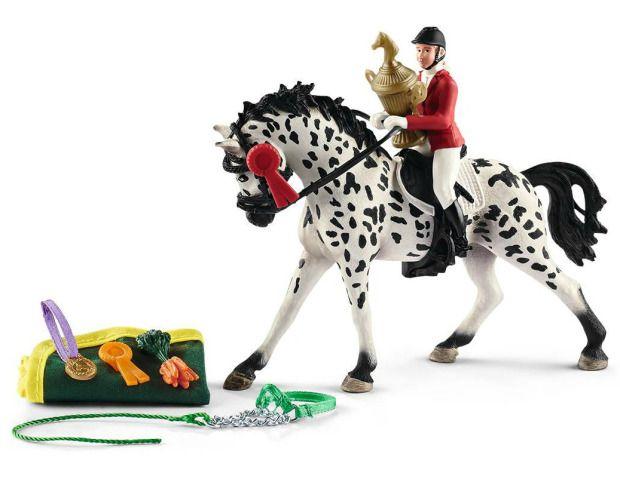 4 x  Horse SADDLE /& BRIDLE Tournament Western Assessories Show Schleich Farm