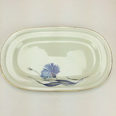 Rosenthal Winifred Blue Cornflower Serving Tray Plate Platter China Selb Germany