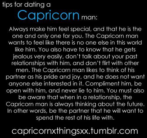 Male capricorn traits