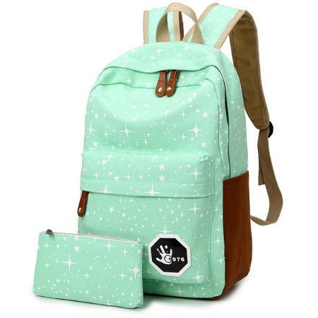 Abstract Marbelized Design TM School Backpack