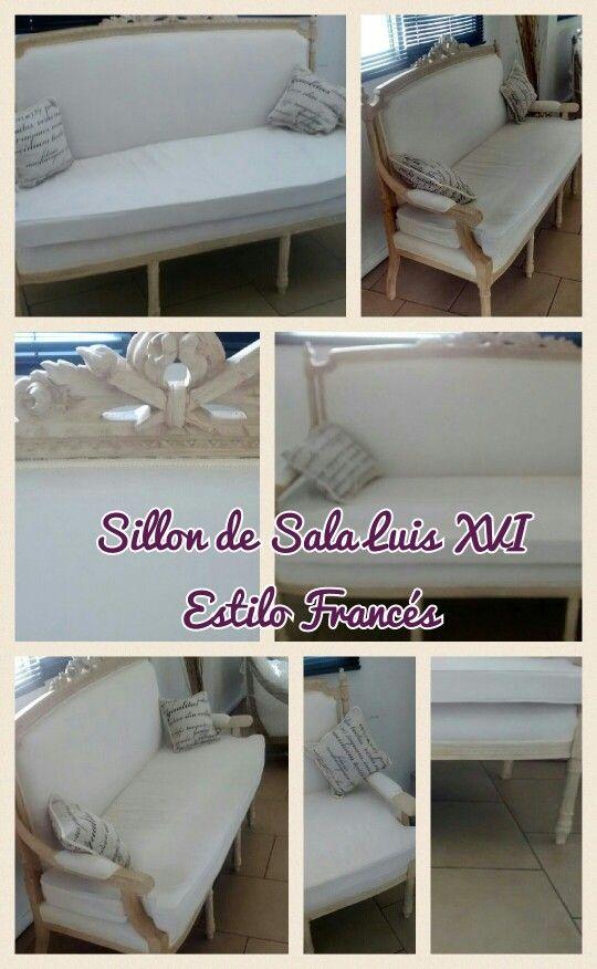 Sillon de Sala Luis XVI Frances | Muebles retro, Sillones