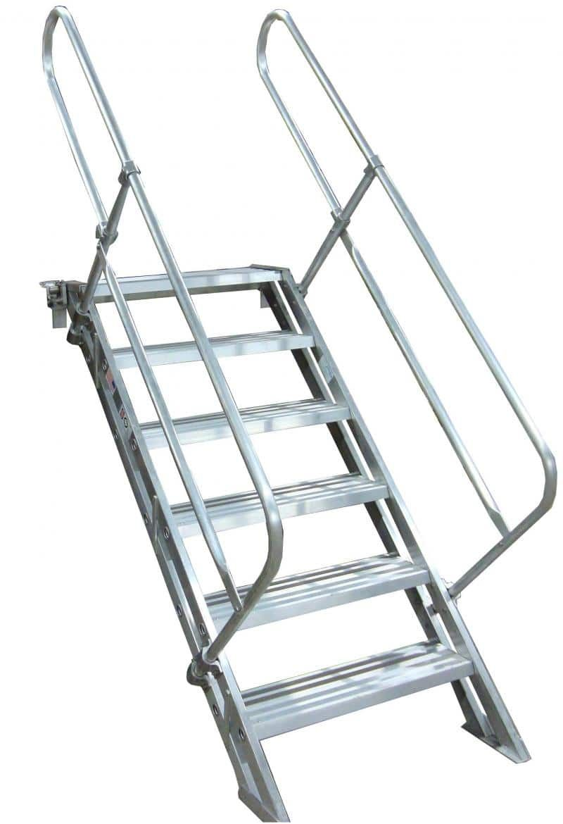 Best Removable Aluminum Stairways Stairways Ship Ladder Metal Stair Railing 640 x 480
