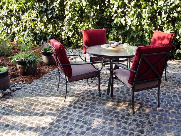 Best 25 Cobblestone patio ideas on Pinterest