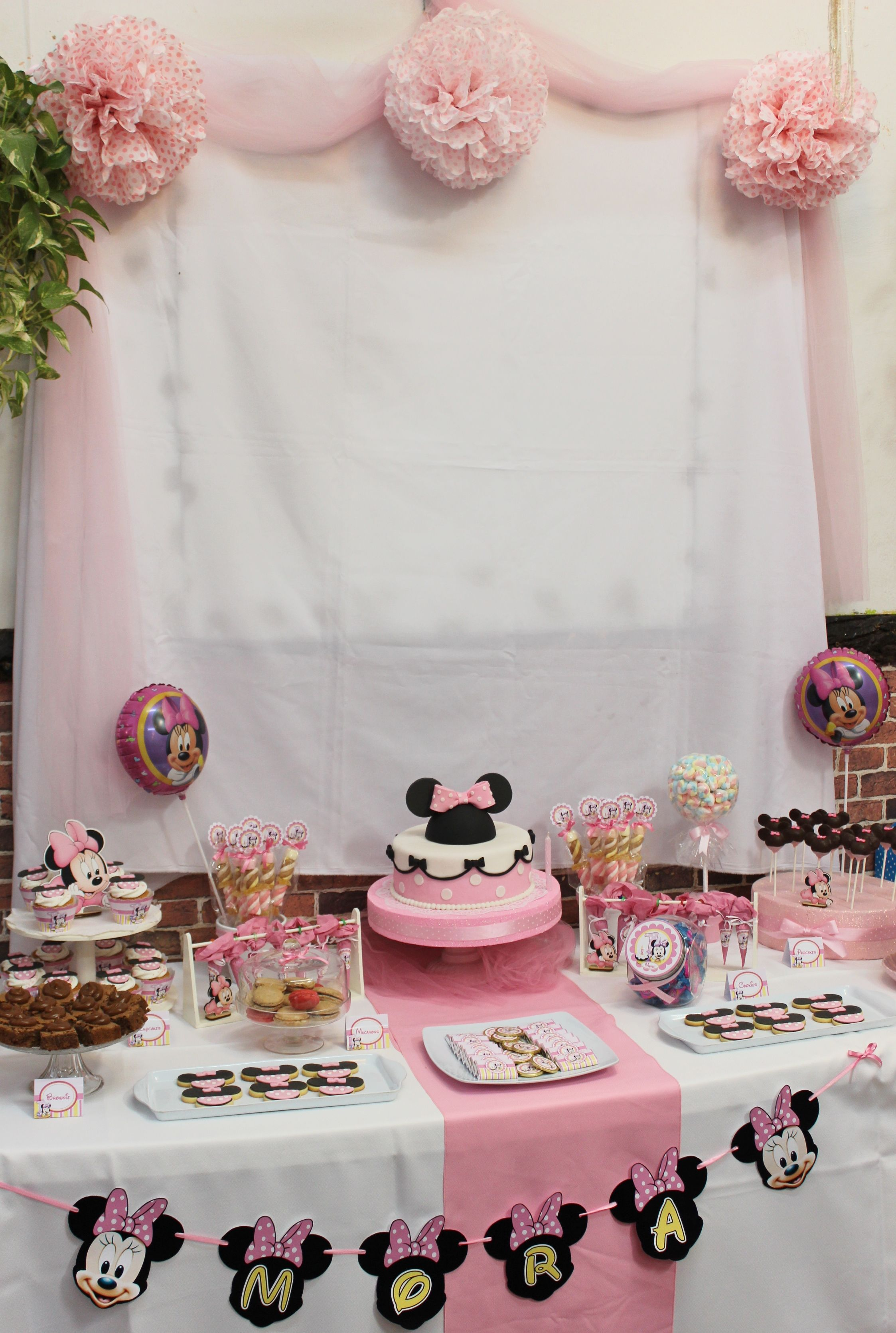 decoration anniversaire minnie mouse. Black Bedroom Furniture Sets. Home Design Ideas