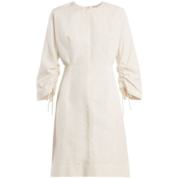 Round-neck cocoon long-sleeved dress Stella McCartney STKBcXv