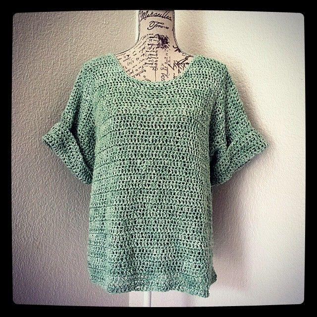 hookybren\'s #crochet shirt | Beautiful Monochrome Crochet ...