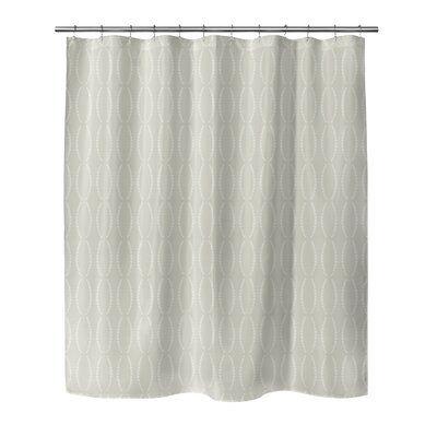 Rosdorf Park Hubert Single Shower Curtain Black Shower Curtains