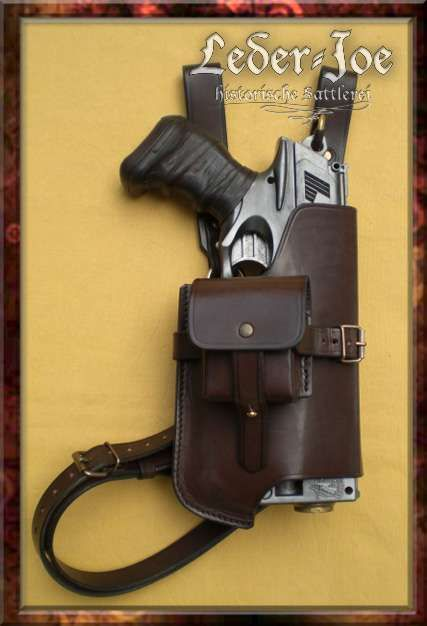 Steampunked Out Nerf Doublestrike Holster ...