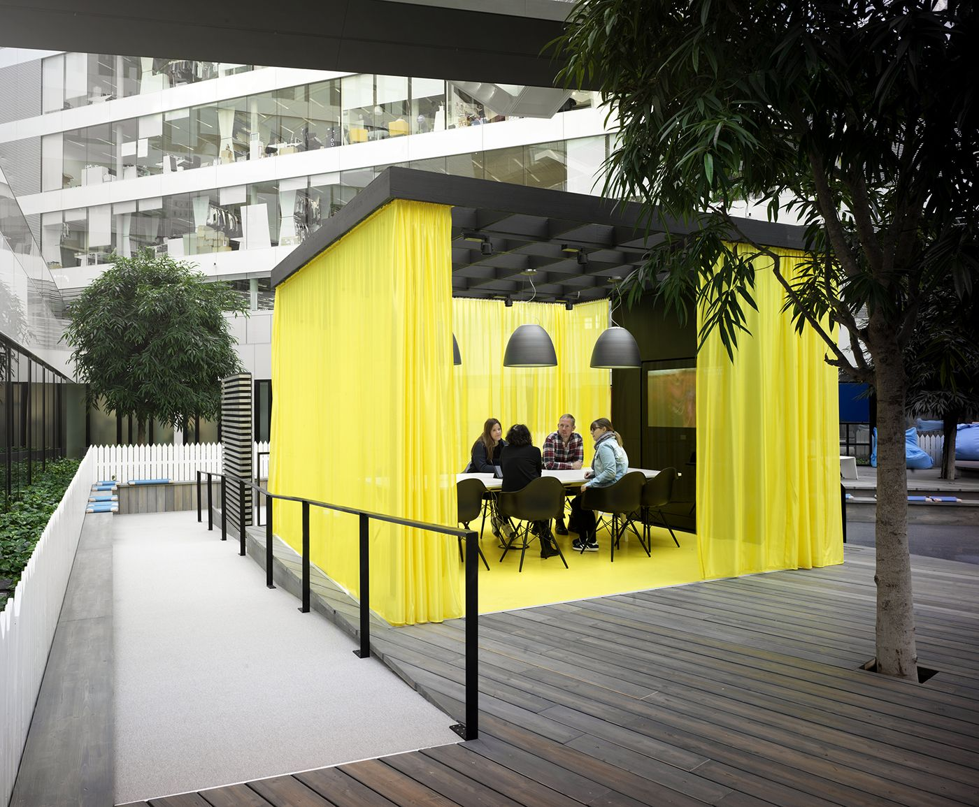 Sin personal puente Masacre  A Tour of Adidas Valley Campus | Workspace design, Work space, Corporate  interiors