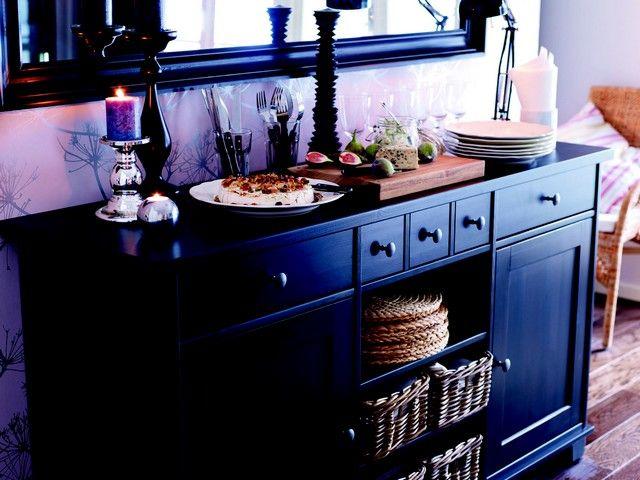 IKEA   Stornas Cabinet In Brown/Black. $449 Canu0027t Do Side By. Ikea  BuffetBuffet TablesOne Room ApartmentDiningroom IdeasDining ...