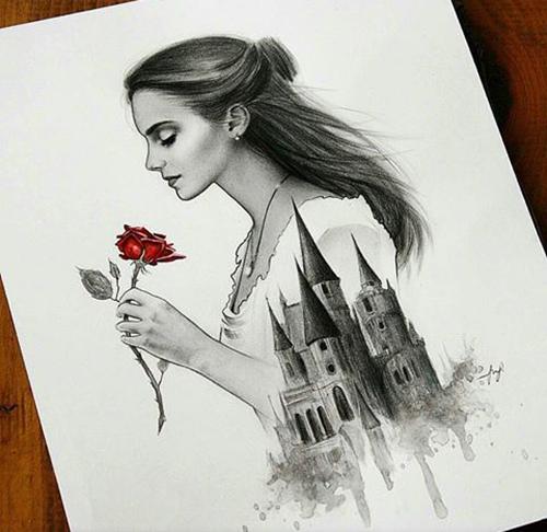 A Bela E A Fera (Artes) Beauty And The Beast (Art