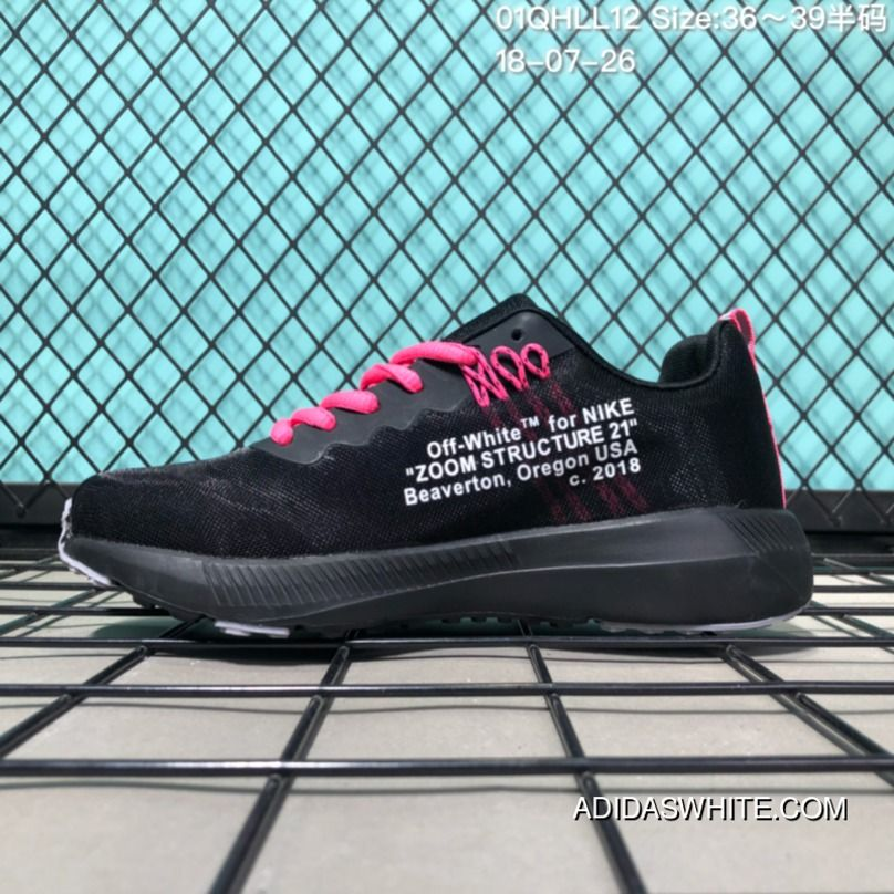 c246e17a130 110 OFF-White X Nike Air Zoom Structure 21 LUNAREPIC Series Collaboration Running  Shoes 01QHLL12 18-07-26 Super Deals