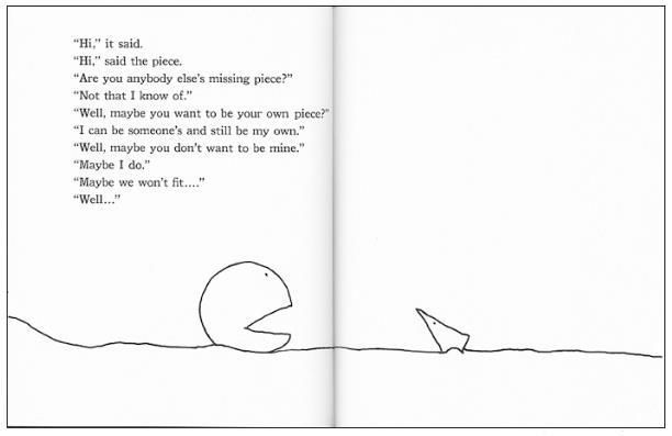 Pin By Lori Smith On Just Some Nice Things To Say To People Shel Silverstein Shel Silverstein Quotes Missing Piece