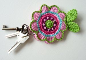 Flower key cover