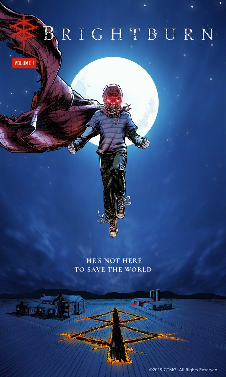 Exclusive art released 'Brightburn' in theaters May 24