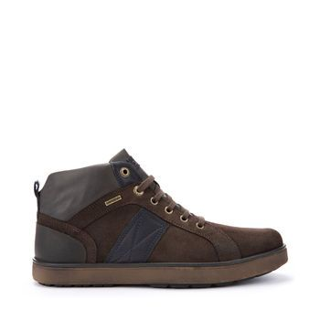 03ee2c8f402ef Mattias B Abx - Bottes Homme Noisette et Marine | Geox | chaussure ...