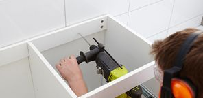 Picture Gallery For Website A vanity offers bathroom storage space This step by step guide from Bunnings Warehouse will teach you how to install a bathroom vanity