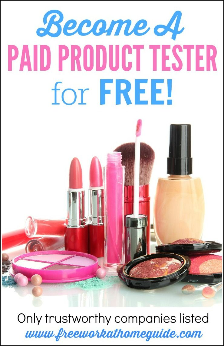 Product Testing Become A Paid Product Tester For Free Product Tester Product Testing Jobs Earn Money Online Fast