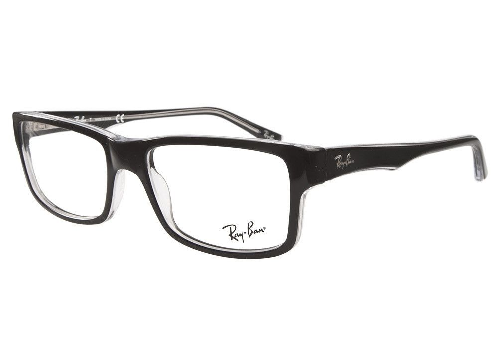 cab8c28e477 Rayban Eyeglasses RB 5245 Black 2034