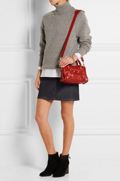 Balenciaga bag outfit