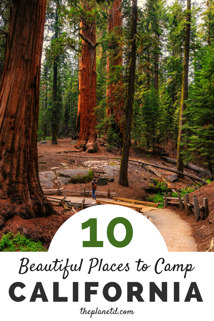Ten of the most beautiful camping spots in California. From Redwood  National Park in the
