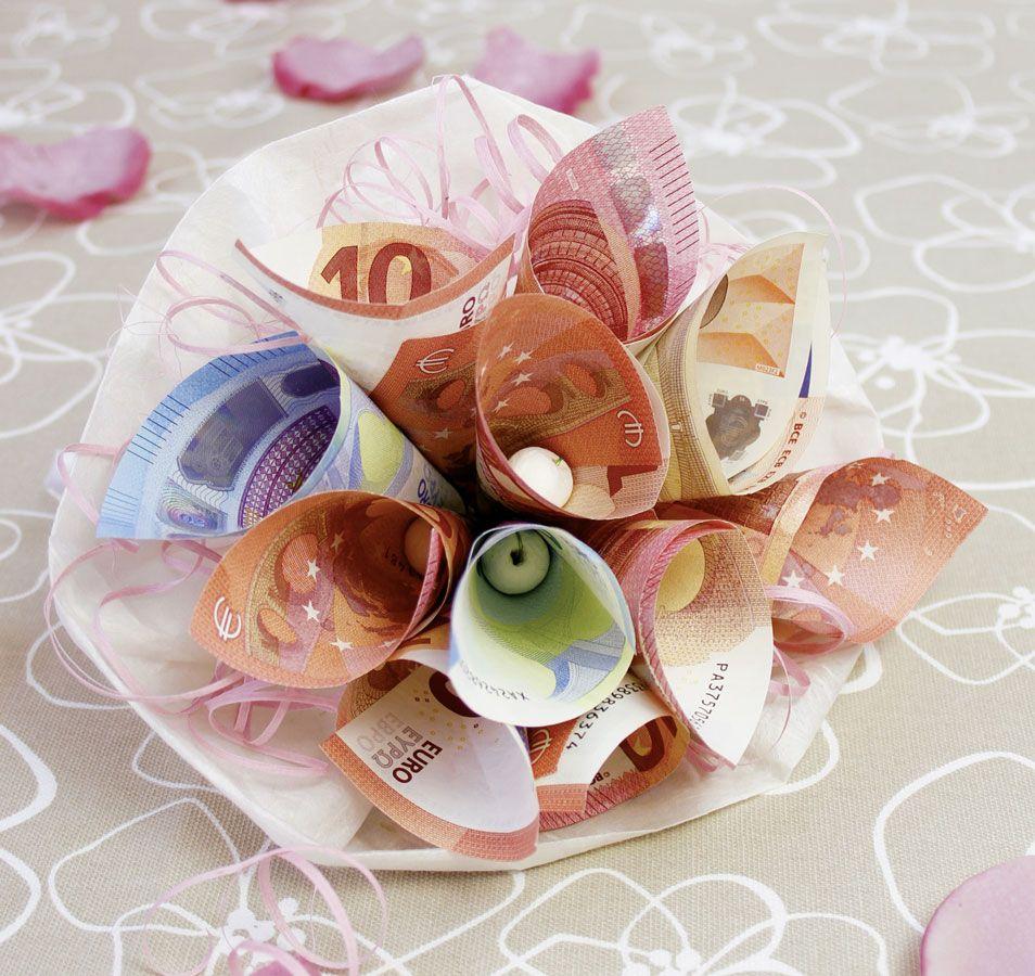 Blumen Geldgeschenk Geldgeschenk Schnell Gemacht Geschenke