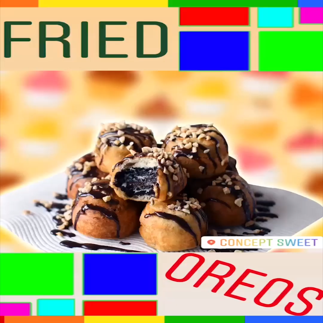 Concept Sweet X Fried Oreo 411.. ALERT!