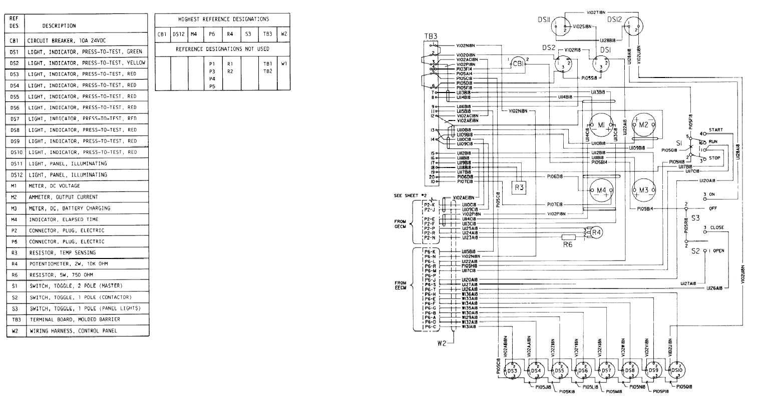 11kv control panel wiring diagram