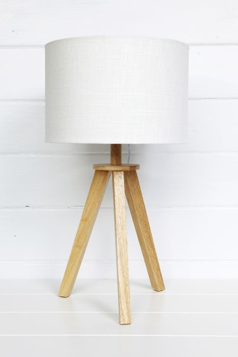 Ono Tripod Table Lamp Upcycle With Aqua Paint On Bottom Half Of Legs