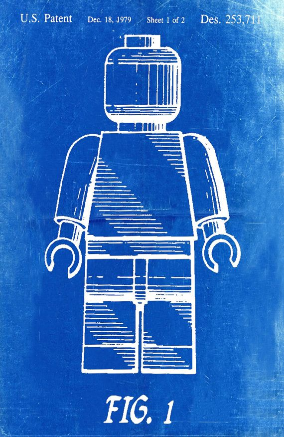 Lego patent blueprint art of a lego figurine man person no2 lego patent blueprint art of a lego figurine man person no2 technical drawings engineering drawings patent blue print art item 0075 dibujos tcnicos malvernweather Choice Image