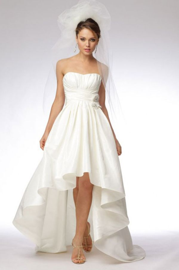 empire waist bridal gown. would love this if it was in another ...
