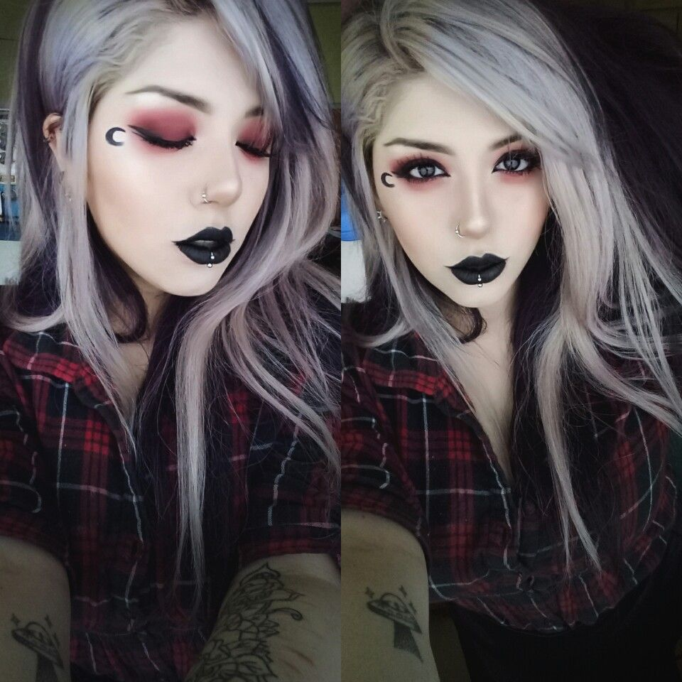 Pin by caitlin crozier on makeup pinterest makeup emo and gothic