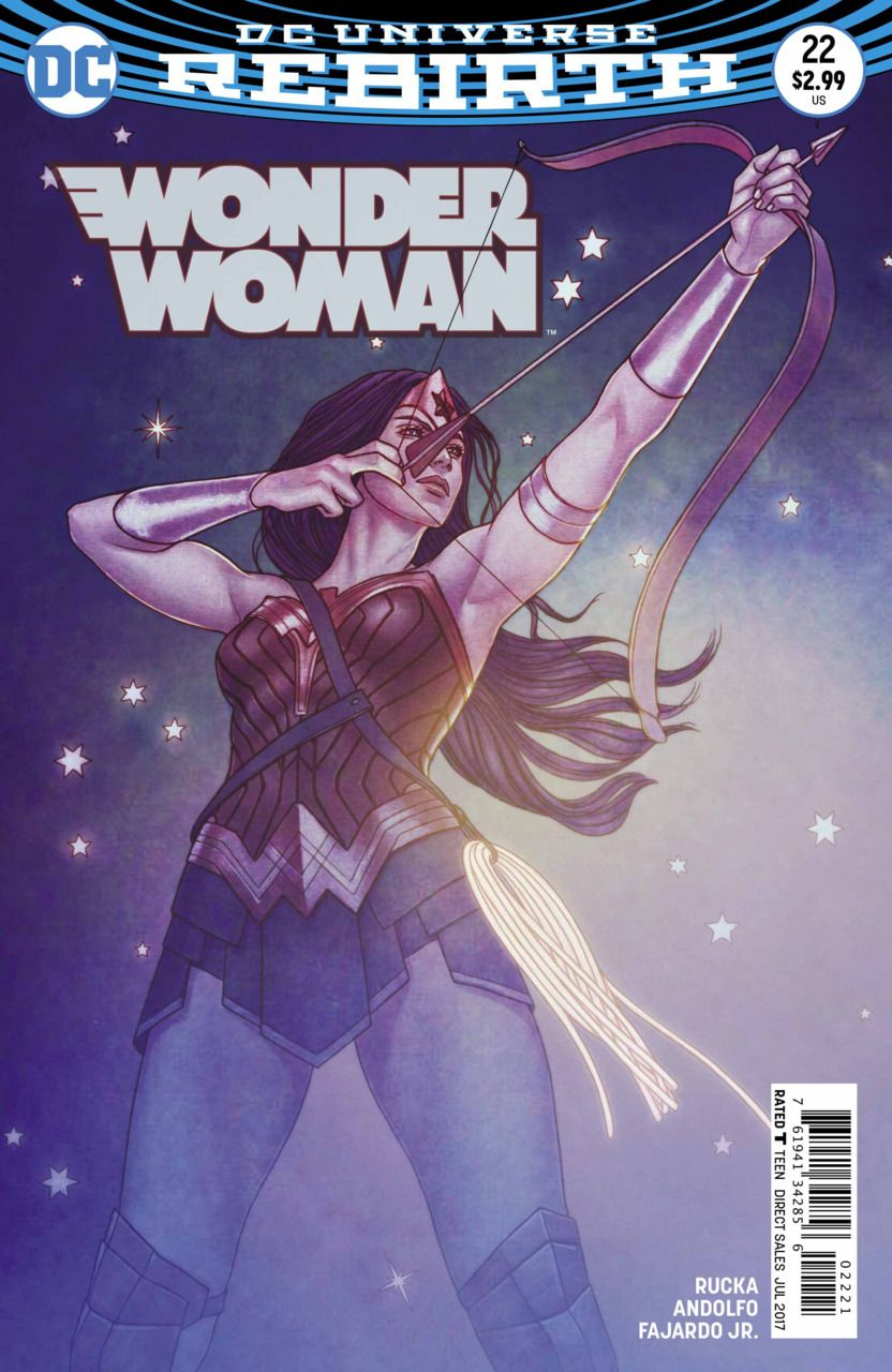 Wonder Woman #22 - Godwatch Part 4 (Issue)
