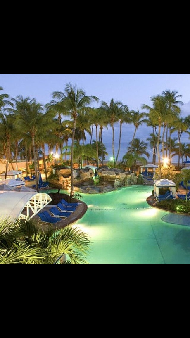 Intercontinental Resort P Rico Honeymoon Places Winter Getaway