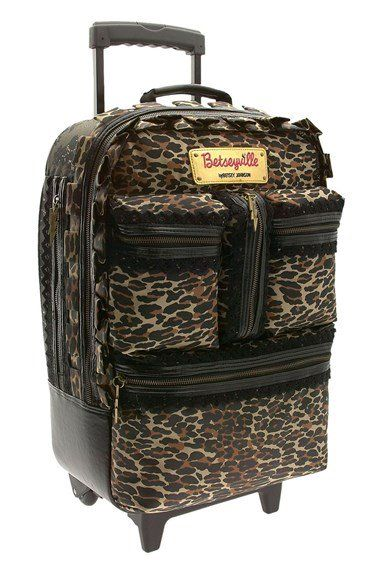 Betseyville by Betsey Johnson Carry-On Wheelie Suitcase   Nordstrom
