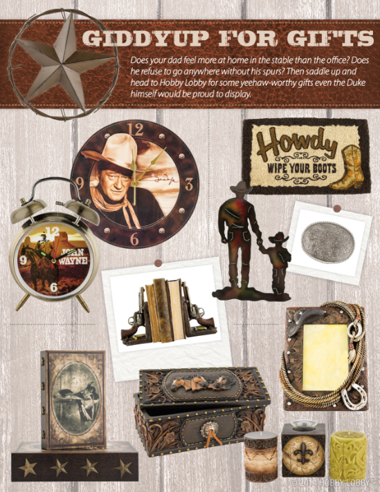 Keep dad saying  Yee-haw!  this Fatheru0027s Day with these Old West worthy gifts! & Keep dad saying